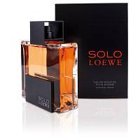 Solo Loewe 75 ml edt (мужественный, загадочный, древесный аромат)
