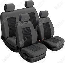 Майки/чехлы на сиденья Порше Кайен Новый (Porsche Cayenne NEW)
