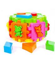 Развивающий куб сортер.Логический куб сортер.Игрушка для малышей.