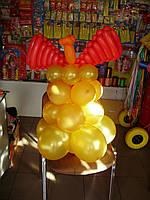 Колокольчики из шаров 3