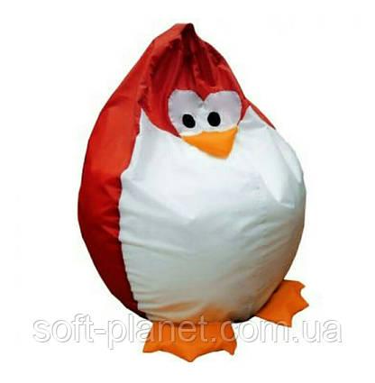 """Кресло-мешок """"Пингвин Красный"""""""
