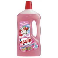 Средство для мытья пола с ароматом малины / SCALA Pavimenti Lampone 1000ml.