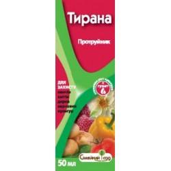 Протравитель Тирана для клубней картофеля и семян, защиты от болезней и вредителей