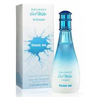Оригинал Davidoff Cool Water Woman Freeze Me 100ml edt Давидофф Кул Уотер Фриз ми Вумен