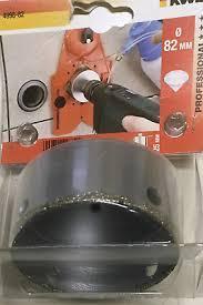 Коронка алмазная KWB по керамограниту 82 мм (499882)