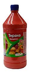 Протравитель Тирана картофеля и семян, рассады защищает от заболевания и вредителей (250 мл емкость)