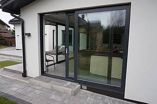 Раздвижные алюминиевые двери, фото 3