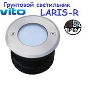 Светодиодный грунтовый светильник VITO LARIS-R 220V 1w, фото 1
