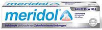Зубная паста Meridol Sanftes Weiss 75мл.