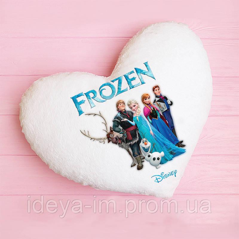 """Светящаяся подушка Холодное сердце """"Frozen"""" видео обзор"""