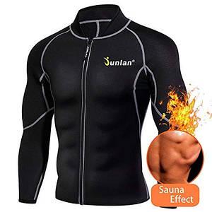 Реглан для сгонки веса мужской JUNLAN MEN FITNESS JACKET