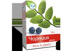 Чай Черника с вит. С 70г. россыпь Вертекс