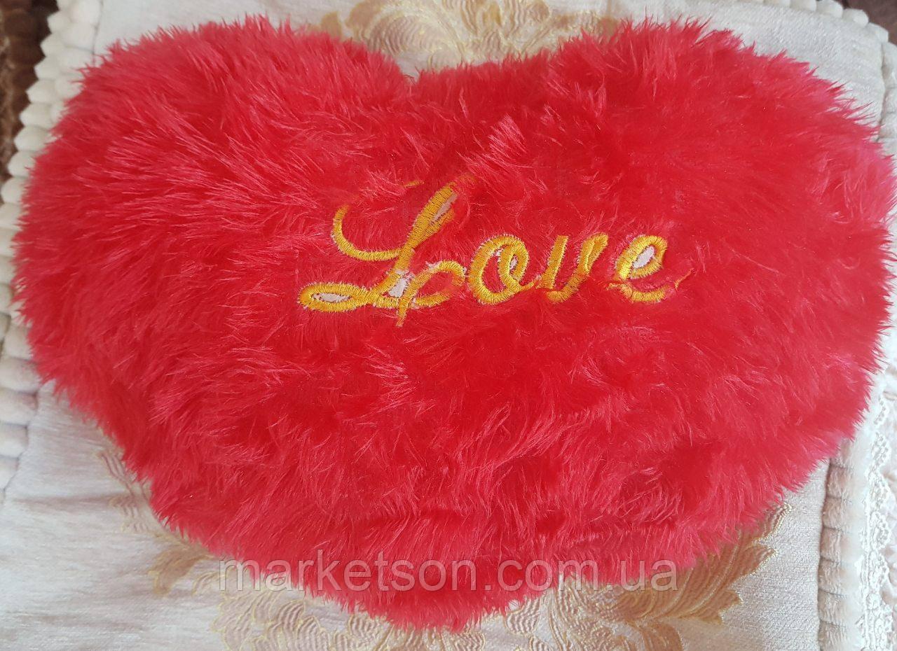 Оригинальный подарок! Декоративная подушка сердце
