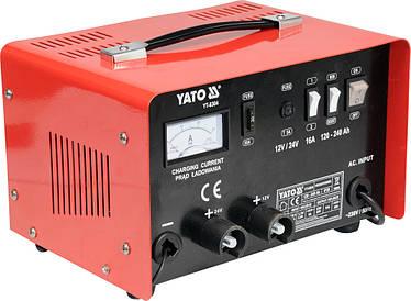 Автомобильное зарядное устройство YATO YT-8304