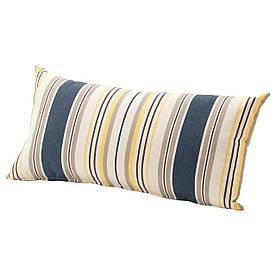 IKEA GRENO (403.380.09) Подушка, сад, синий, серый