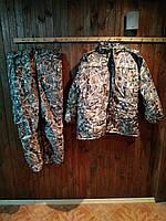 Тёплый зимний костюм для рыбалки и охоты