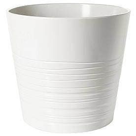 IKEA MUSKOT (103.081.98)  Кашпо, белый