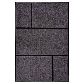 IKEA KOGE (402.966.03) Придверні килимок, сірий, чорний