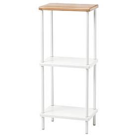 IKEA DYNAN (203.181.68) Шкаф, белый, бамбуковый узор