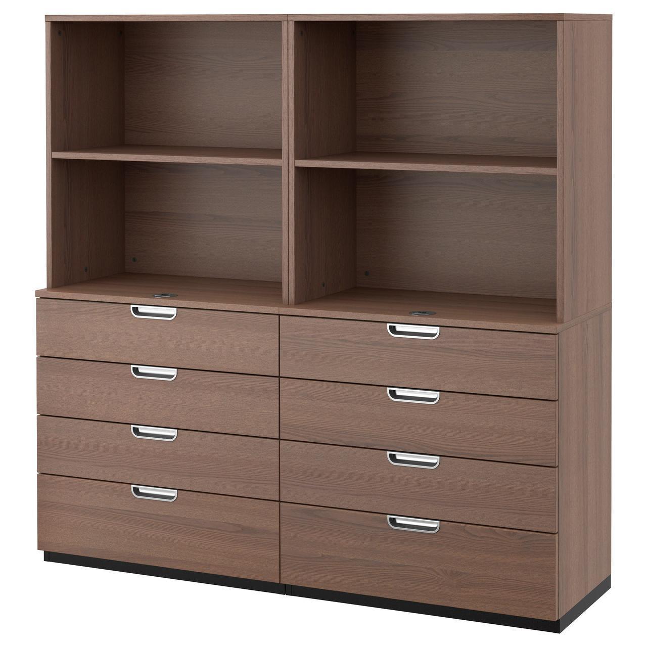 IKEA GALANT (291.849.56) Шкаф для документов, серый