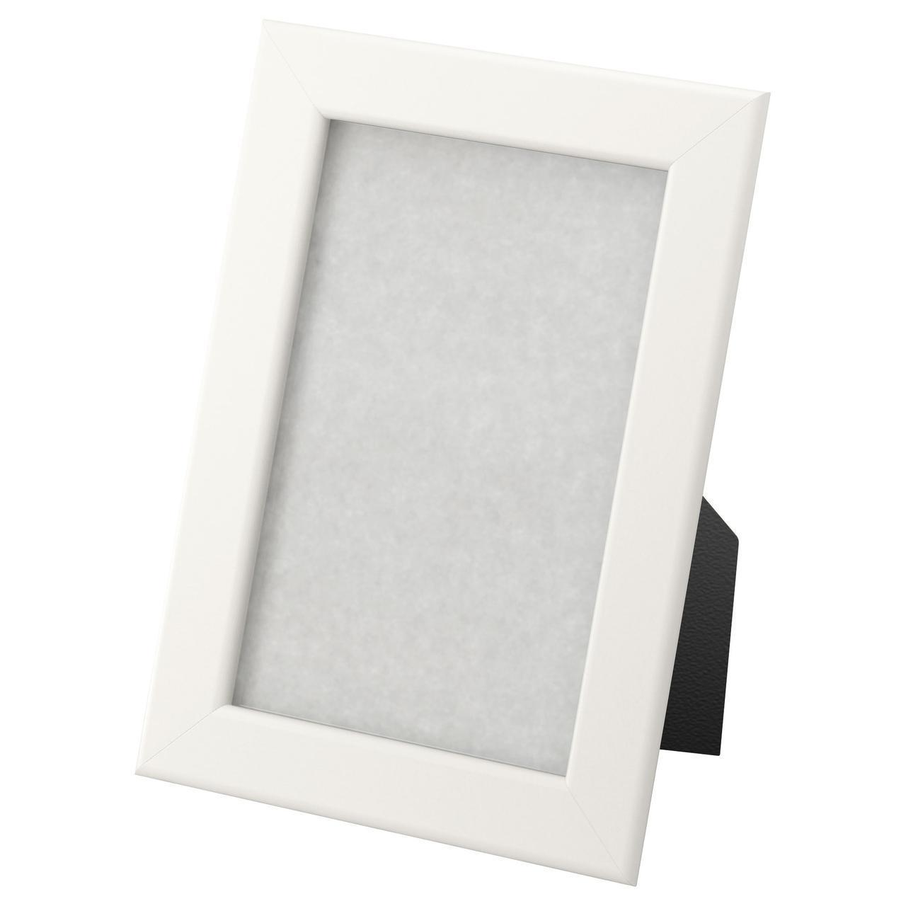 IKEA FISKBO (002.956.53) Рамка белая