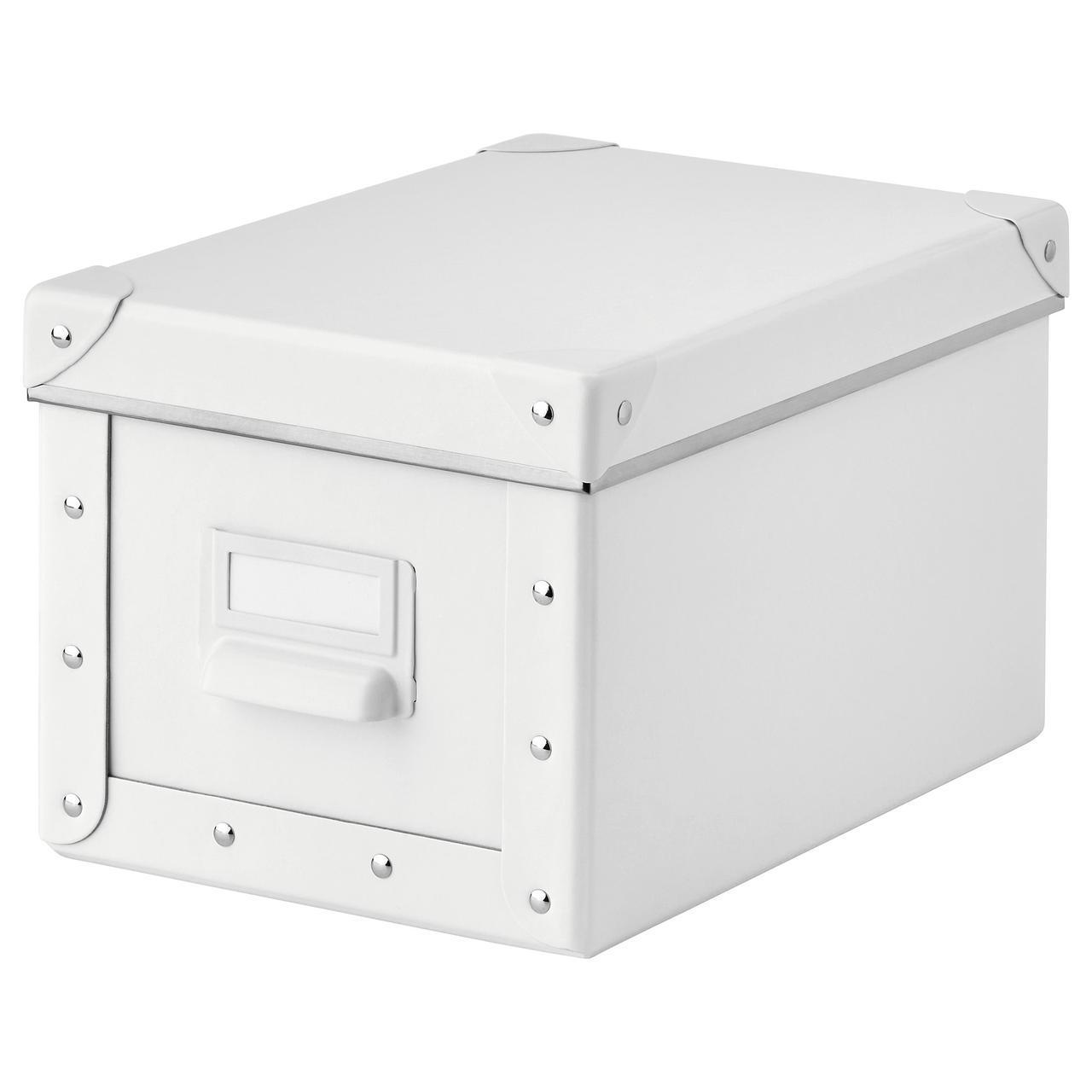 IKEA FJALLA (403.956.79) Коробка с крышкой, белый