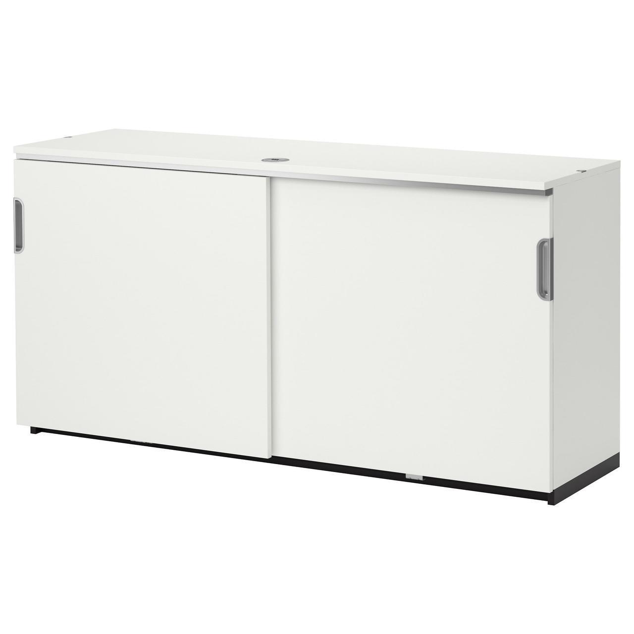 IKEA GALANT (203.381.90) Шкаф с раздвижными дверями, серый