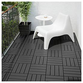 IKEA RUNNEN (902.381.11) Підлогова дошка, сад, темно-сірий