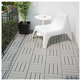 IKEA RUNNEN (702.381.12) Підлогова дошка, сад, сірий