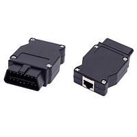 ENET переходник OBD2 16pin папа - Ethernet для BMW | код: 10.03718