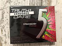 Клубничная жвачка без сахара Wrigley's 5 Strawberry Gum