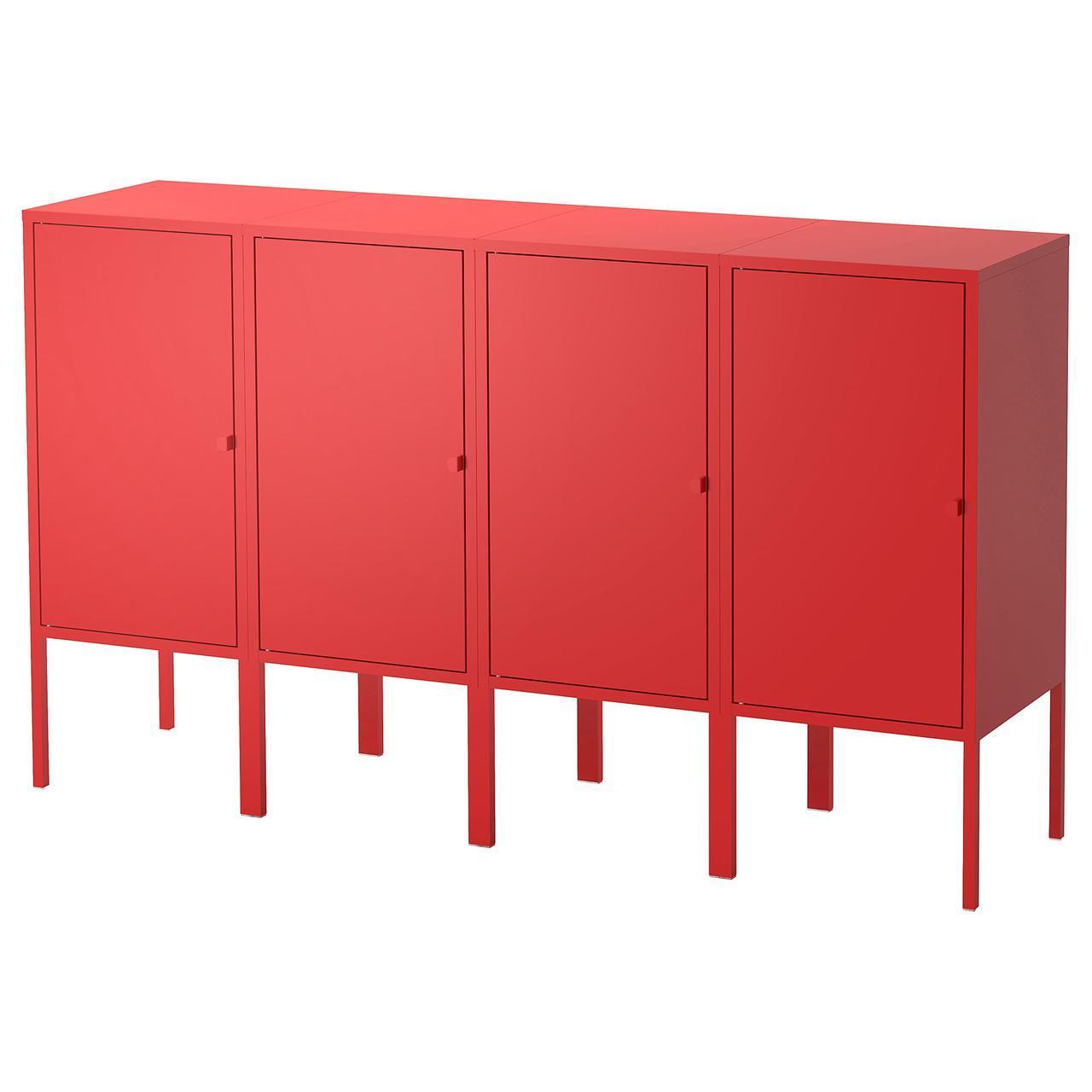 IKEA LIXHULT (992.488.70) Шкаф, темно-синий