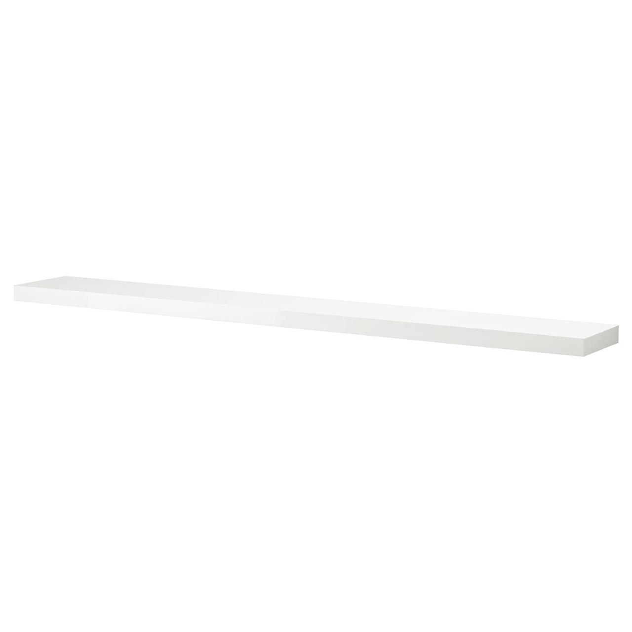 IKEA LACK (403.096.53) Настенная полка, белая