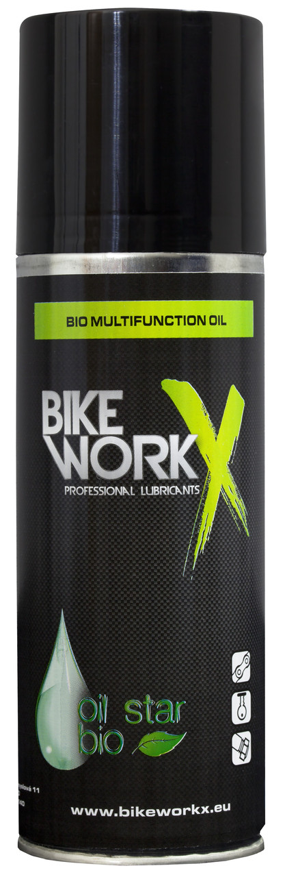 Смазка (универсальное масло) BikeWorkX Oil Star BIO, спрей (200 мл)