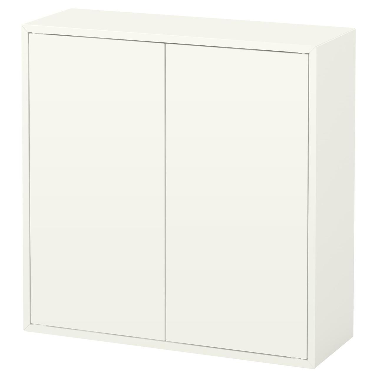 IKEA EKET (303.346.05) Шкаф с 2 дверьми и 2 полюсами