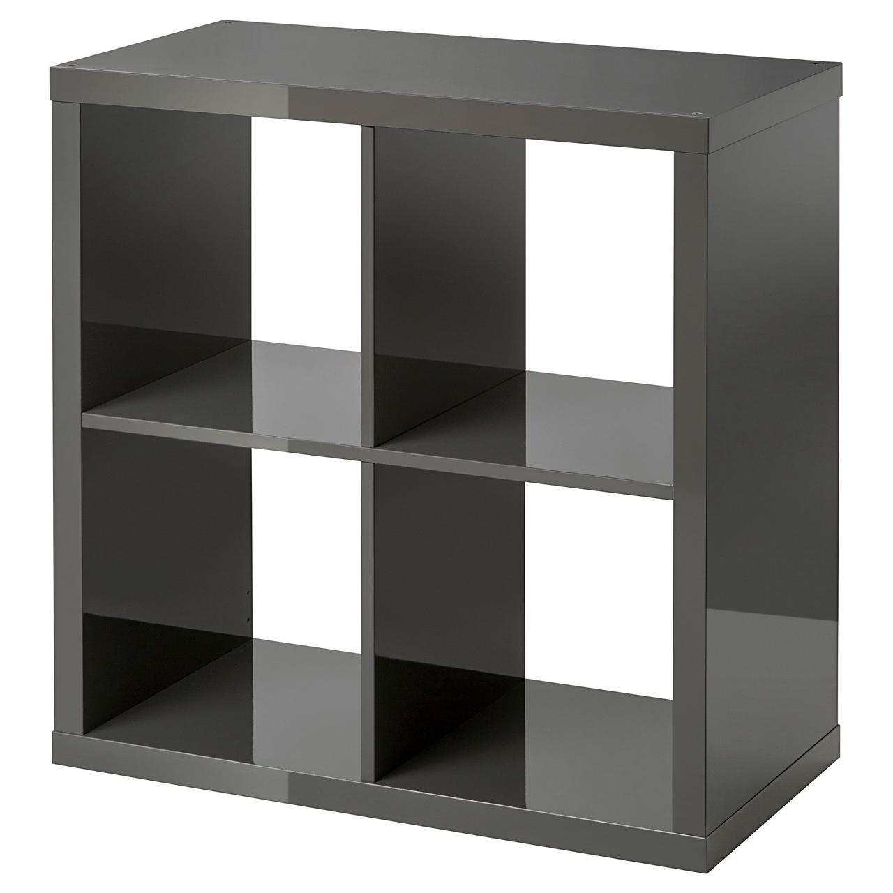 IKEA KALLAX (503.342.23) Шкаф, белая полировка