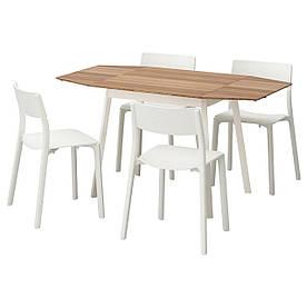 IKEA IKEA PS 2012 / JANINGE (691.614.82) Стіл і 4 стільця, бамбук