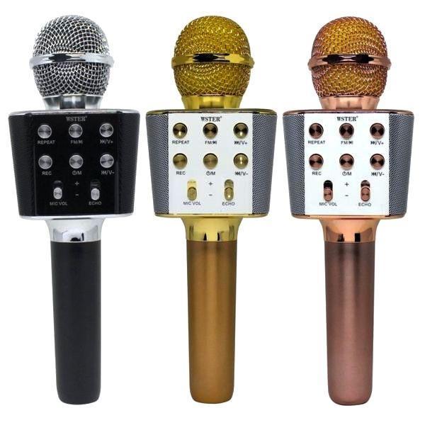 Беспроводной микрофон-караоке WSTER WS-1688 оригинал