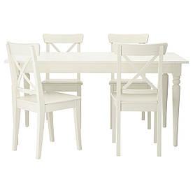 IKEA INGATORP / INGOLF (299.173.07) Стіл і 4 стільця