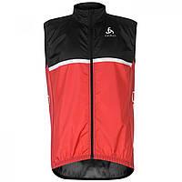 Куртка Odlo Lightweight Cycling Gilet Black/Red - Оригинал