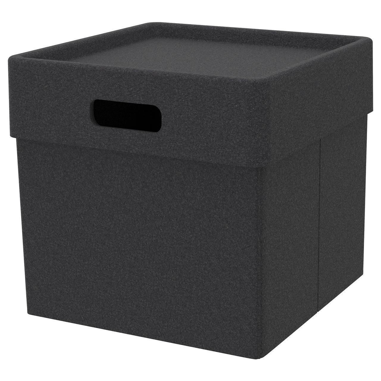 IKEA EKET (103.543.31) Коробка, темно-серый