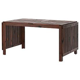 IKEA APPLARO (402.085.31) Стіл з відкидними підлогами, коричневий, коричневий