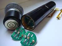 Плата с контактной группой для радиомикрофонов Shure sm58, bets58 серии SLX, PGX