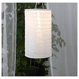 IKEA SOLVINDEN (003.831.74) Подвесная лампа, солнечная энергия, в виде белой трубки