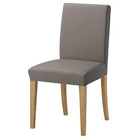 IKEA HENRIKSDAL (891.001.57) Стілець, дуб, Videslund різнобарвний