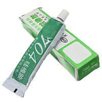 Клей силиконовый 704 герметик термостойкий резина для электроники LED | код: 10.04653