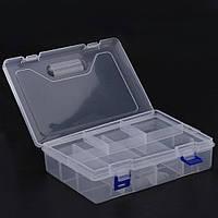 Органайзер пластиковый 2 яруса 8 секций # 10.04841