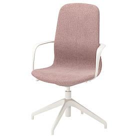 IKEA LANGFJALL (692.526.46) Комп'ютерне крісло, Gunnared світло-рожевий
