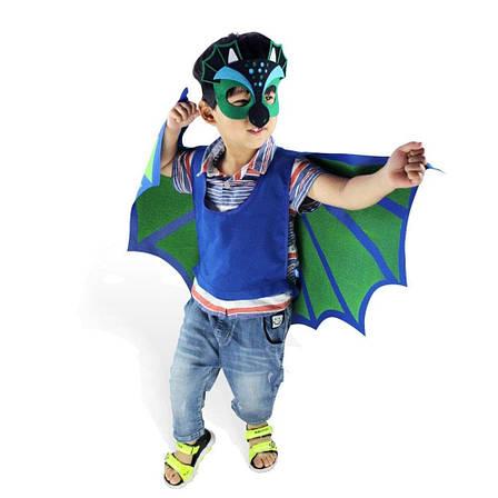 Детский костюм дракончика, Крылья с маской, Косплей дракона., фото 2