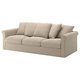 IKEA GRONLID (092.556.57) Трехместный диван, Inseros white